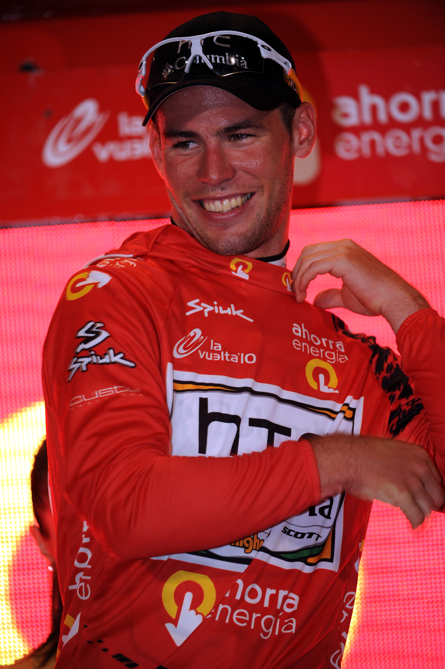 Mark Cavendish takes lead, Vuelta a Espana 2010 stage 1 TTT