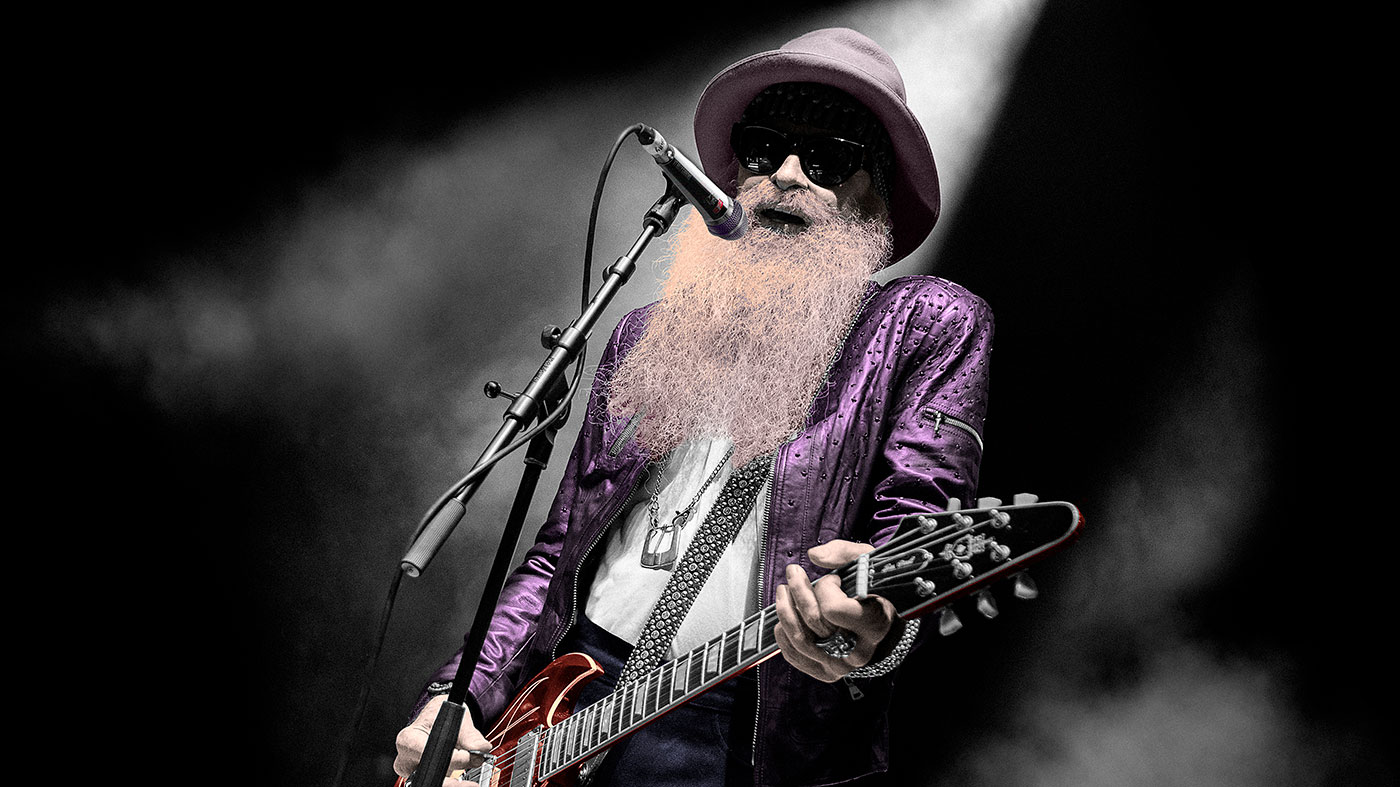 "Billy Gibbons: ""BB King strummed my guitar, looked at me rather quizzically and said, 'Why you working so hard?'"""