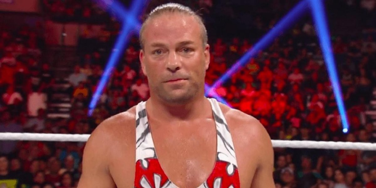 Rob Van Dam on Raw