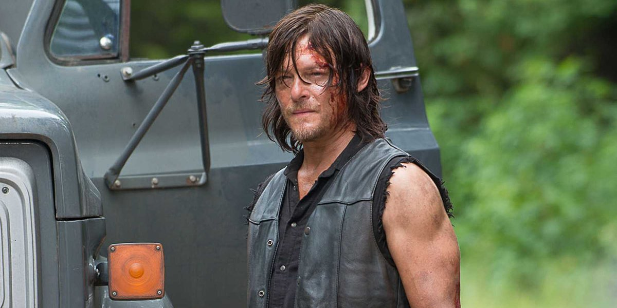 Norman Reedus on The Walking Dead