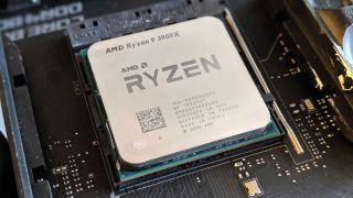 Ryzen 9 3900X in a motherboard
