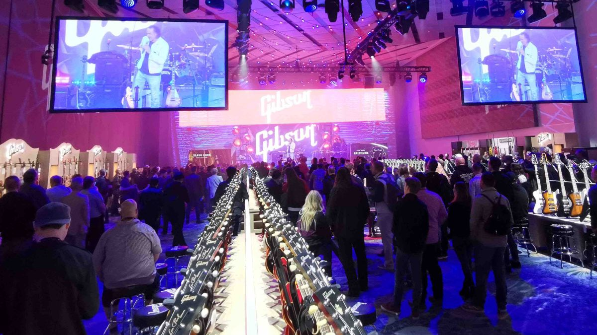 NAMM 2020: The Gibson and Epiphone stand - in pictures
