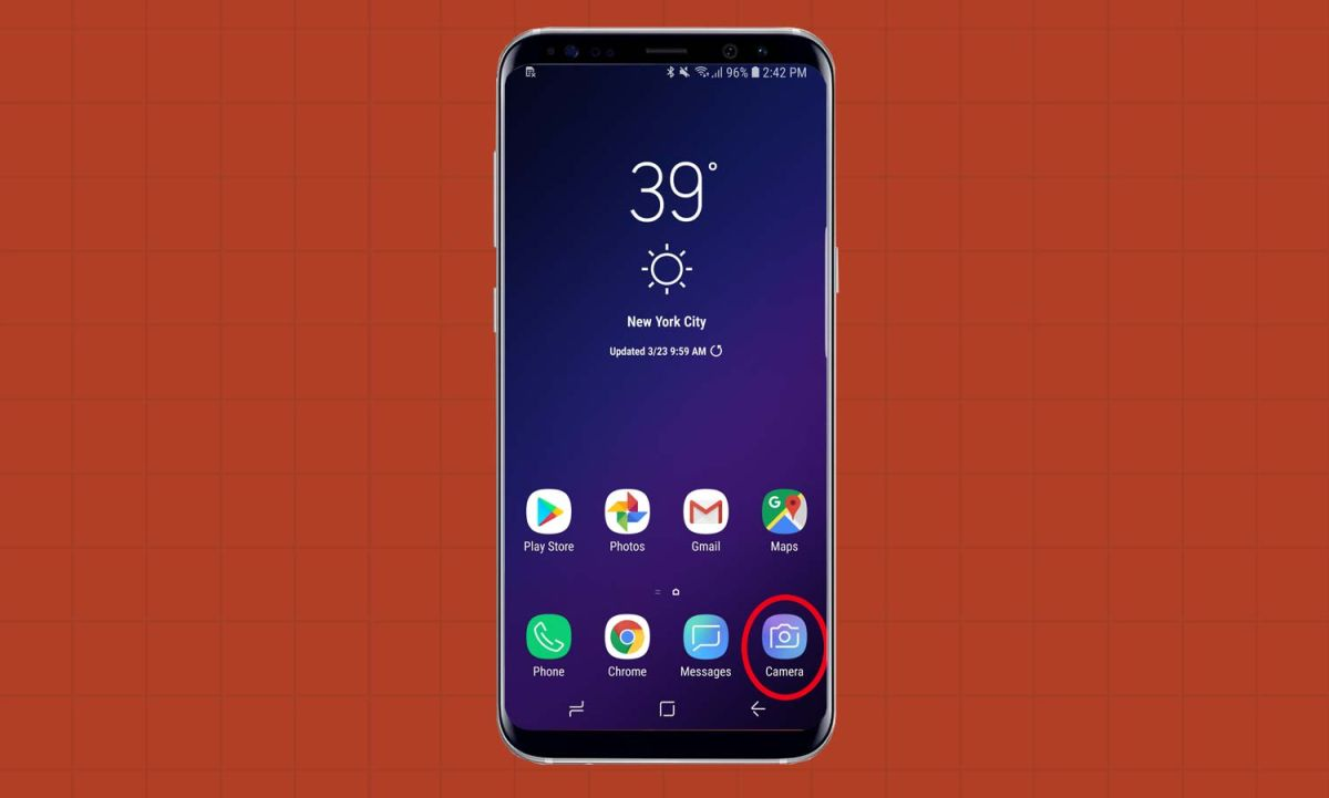 How to Use Optical Zoom on the Galaxy S9+ - Galaxy S9 User