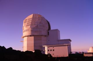 The Daniel K. Inouye Solar Telescope.