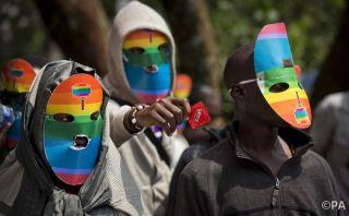 A rare Kenyan protest against new homophobic legislation