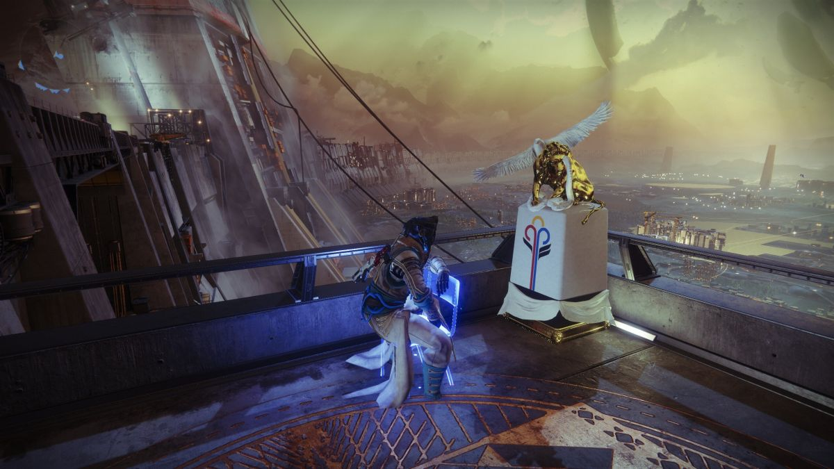 Titans get a tiny statue for winning the Destiny 2 Guardian Games