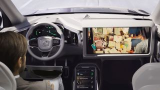 Autonomous vehicle mockup