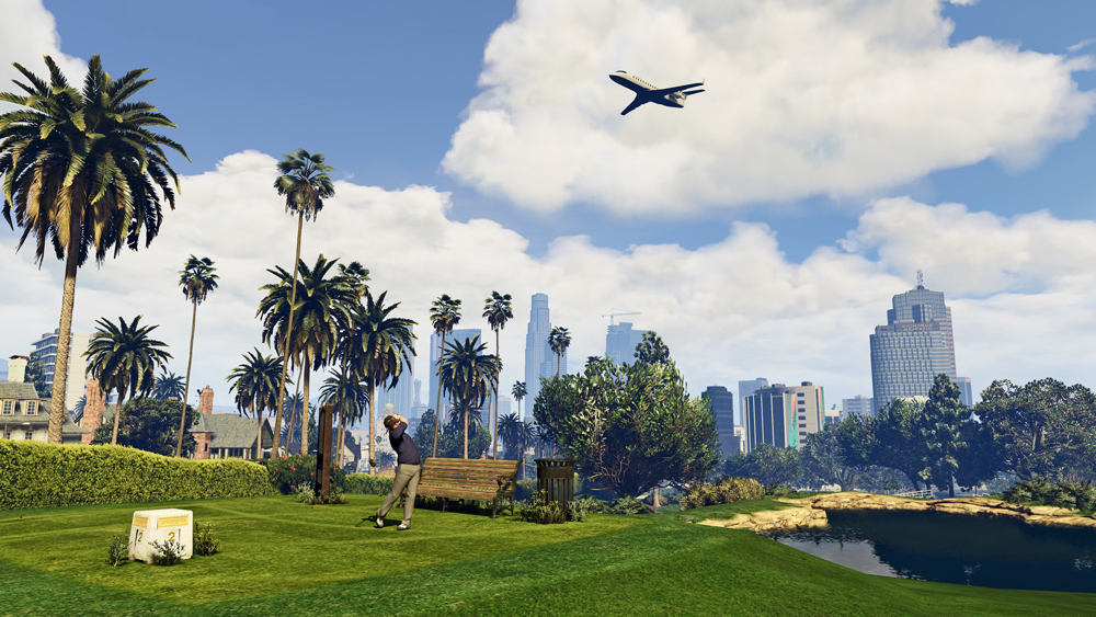 GTA 5 PC Screenshots Show Off Updated Graphics #32598