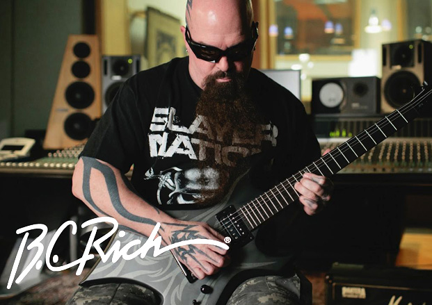 Kerry King Demos His New B.C. Rich KKW30 Signature Guitar | Guitar World