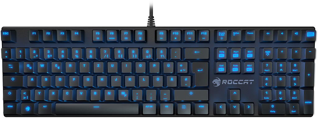 Roccat's frameless Suora mechanical keyboard keeps it simple   PC Gamer