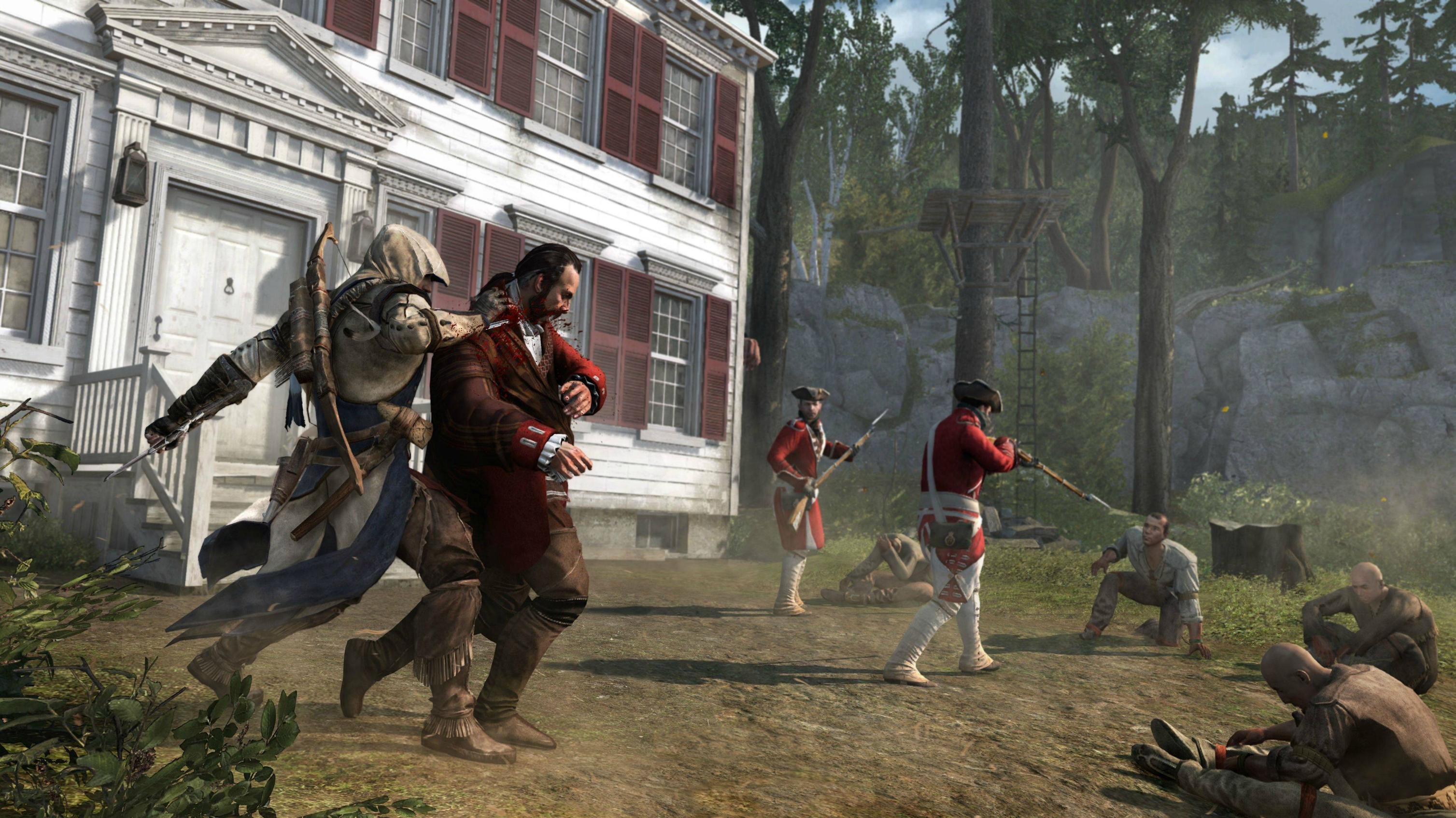 Assassin's Creed 3 Screenshots Travel Across The Colonies #24033