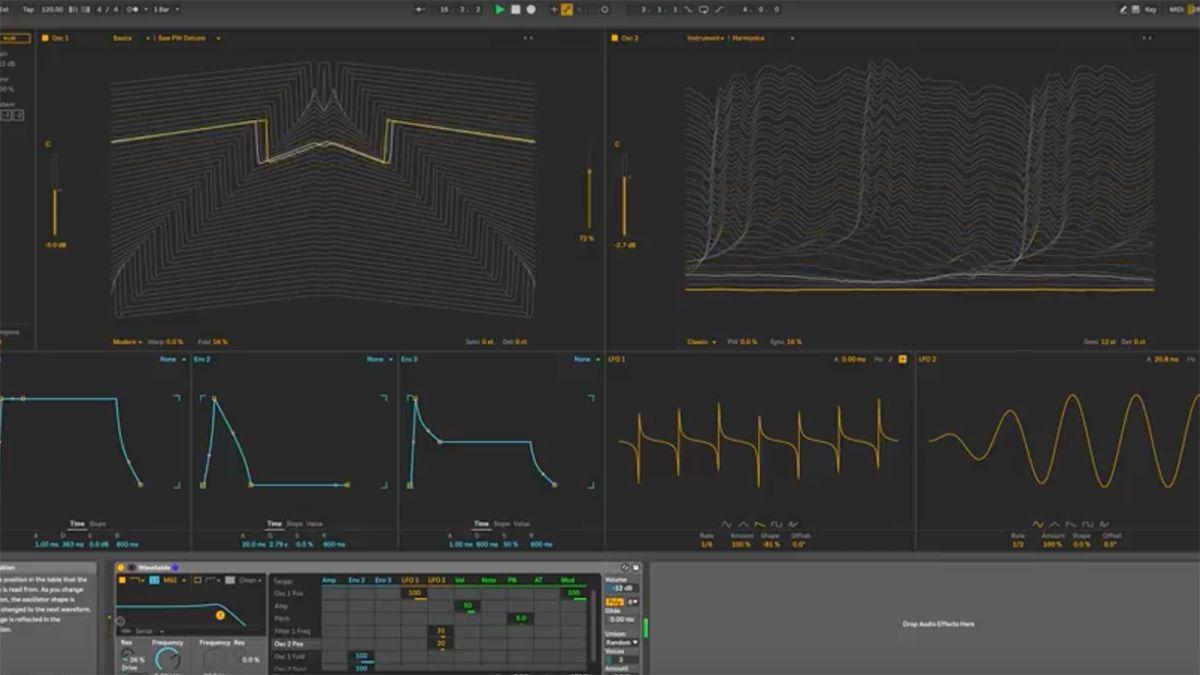 first look video ableton live 10 wavetable synth musicradar. Black Bedroom Furniture Sets. Home Design Ideas