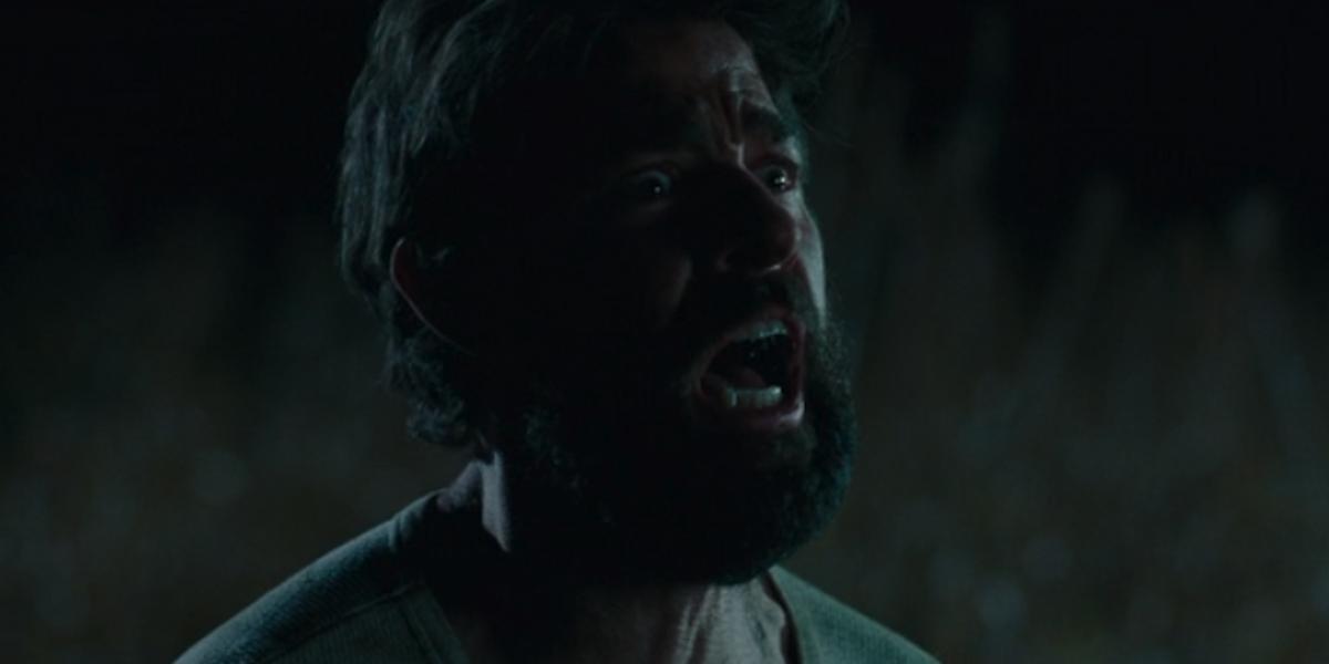 John Krasinski as Lee death scene in Quiet Place
