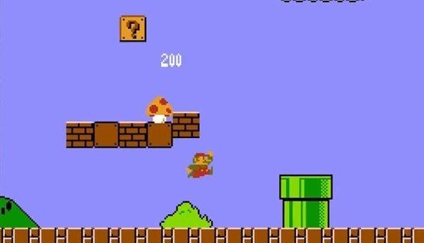 Super Mario Bros. mushroom