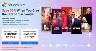Discovery plus gift discount page