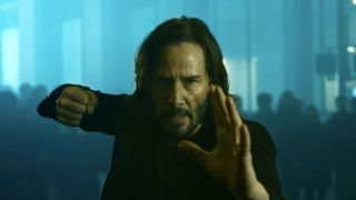 Keanu Reeves as Neo in The Matrix: Resurrections