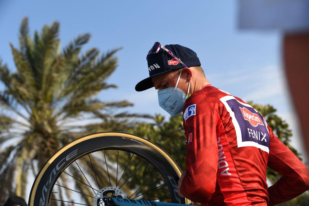Mathieu van der Poel at the UAE Tour