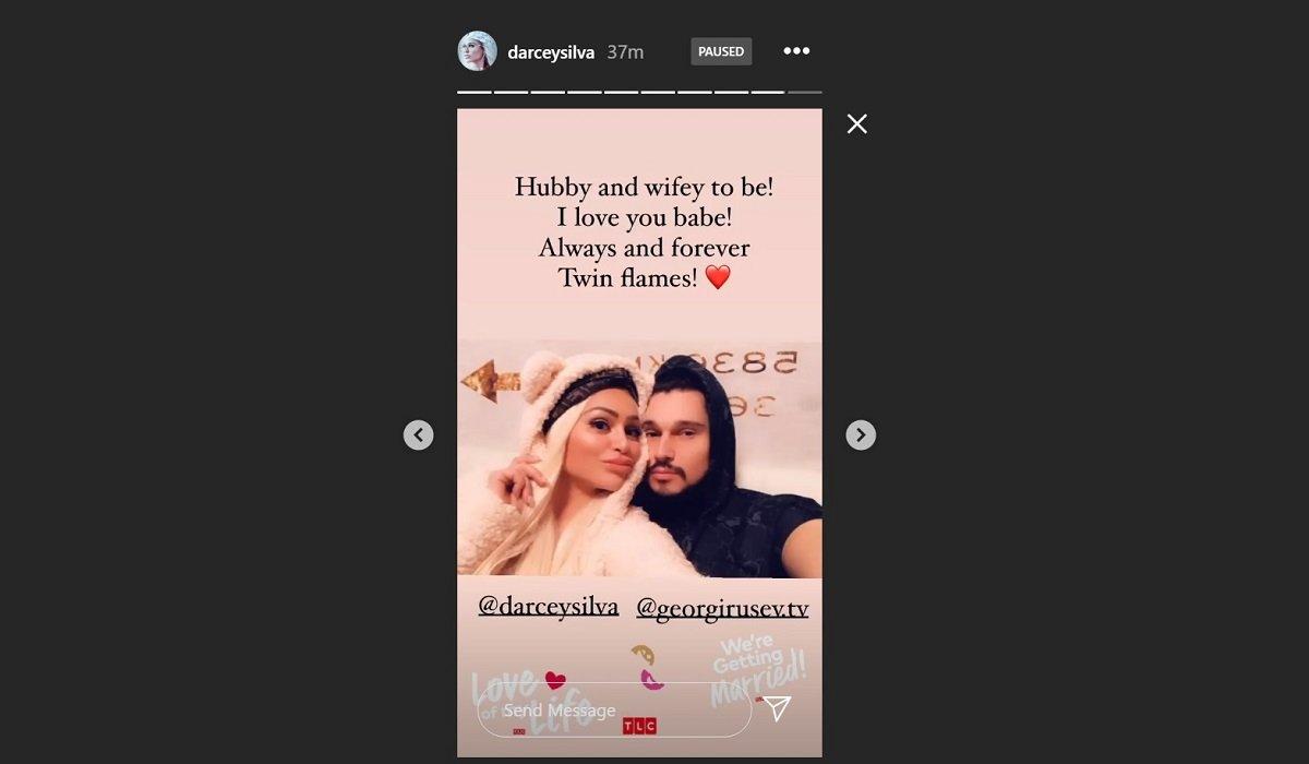 Darcey Silva and Georgi Rusev Via Darcey's Instagram