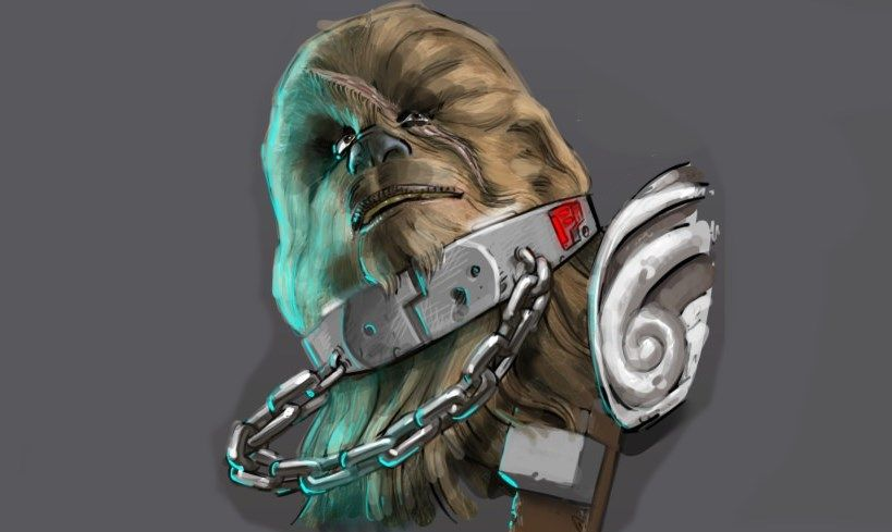 Battlefront 4 concept art reveals Dark Side Luke, Jedi Maul, and Evil Chewbacca
