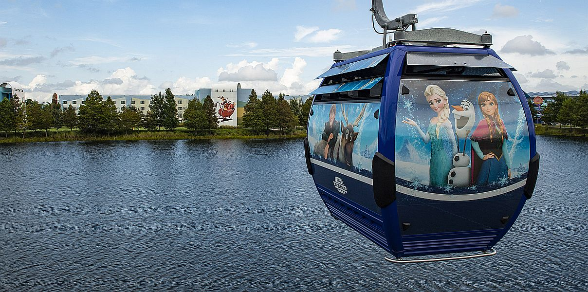 Walt Disney World's Skyliner Gets Stuck Again, Leaving Guests Hanging