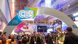 Busy halls of CES