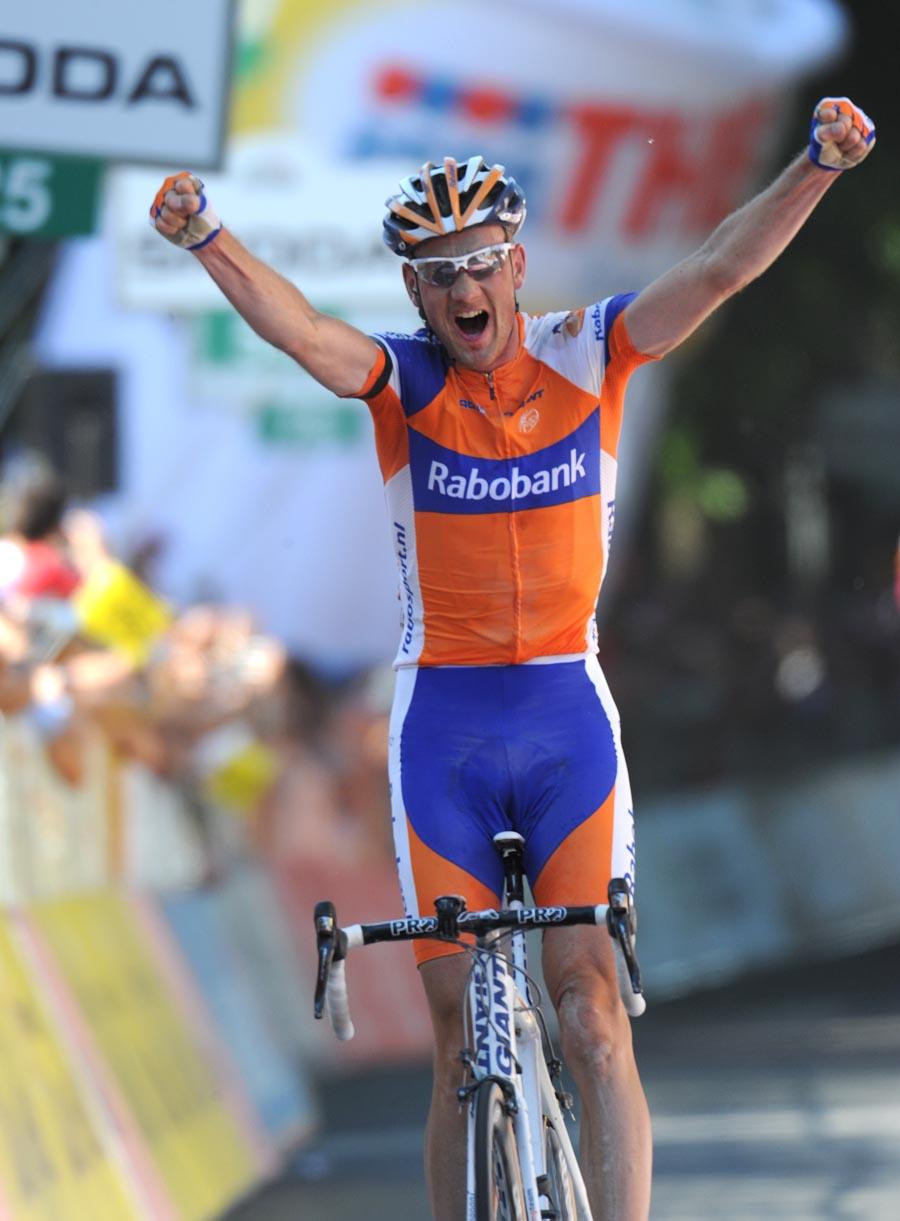 Pieter Weening wins, Giro d