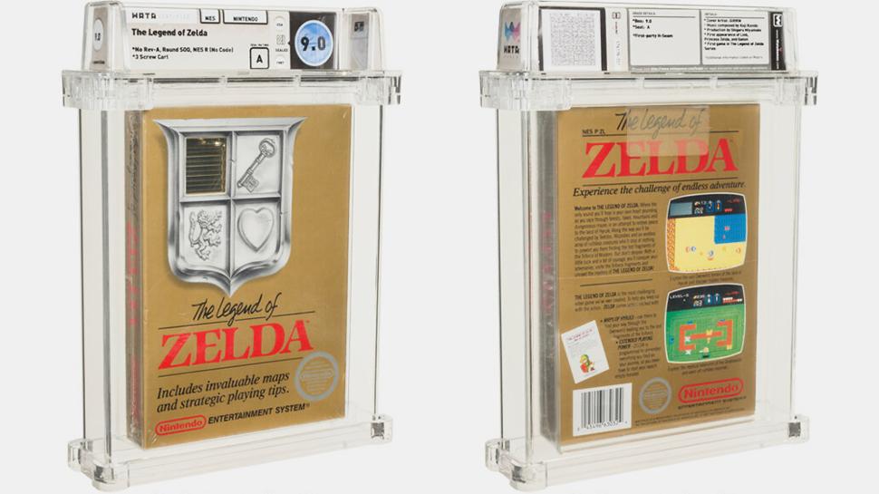 An Unpacked Legend of Zelda Game Sold for 0,000