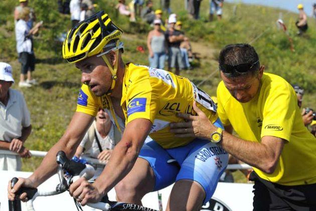 Stefan Schumacher needs a push