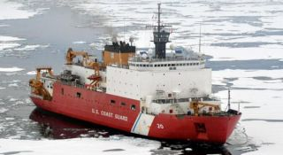 All aboard! This icebreaker is ready to set sail to the Arctic.