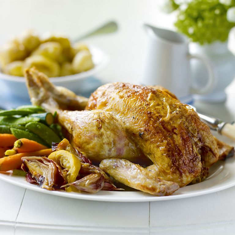 Lemon Roast Chicken with Lemon Thyme recipe-chicken recipes-recipe ideas-new recipes-woman and home