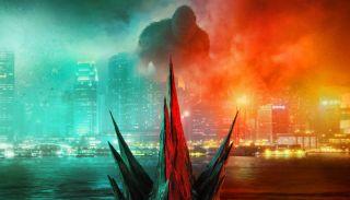 Godzilla Vs. Kong movie poster.