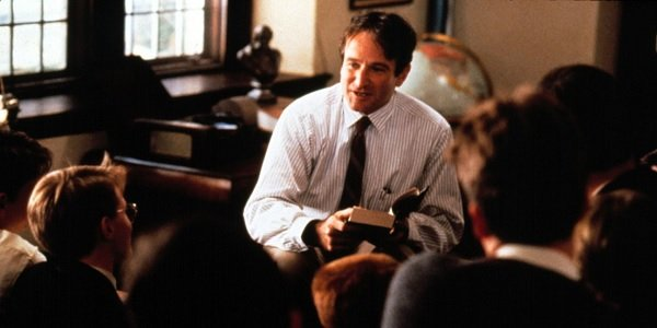 Dead Poets Society Robin Williams teaching his heart out