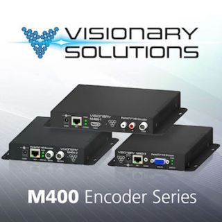 Visionary Solutions Introduces Line of H.264 HD Encoders