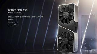 GeForce RTX 3070 details