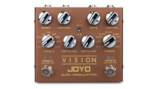 Joyo has a Vision: to cram 18 modulation effects into one $89 pedal