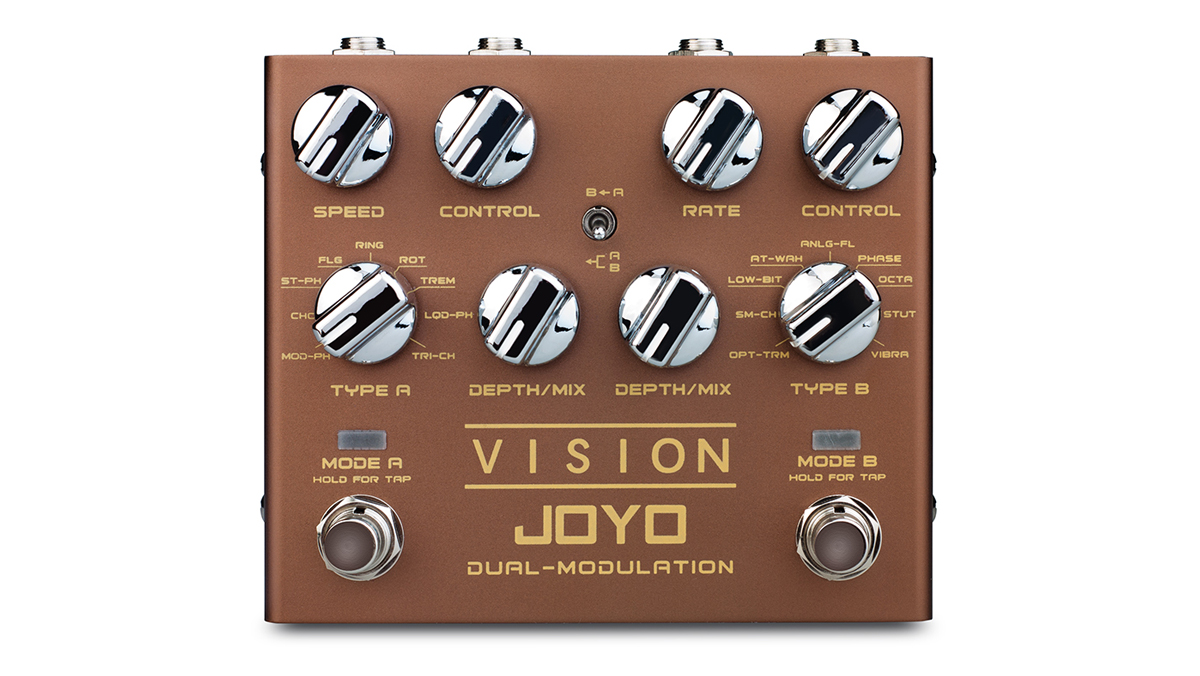 Joyo has a Vision: to cram 18 modulation effects into one $89 pedal | MusicRadar