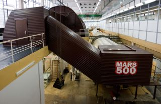 The Mars500 Mars Mission Simulator in Moscow, Russia.