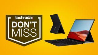 Surface Pro X deals laptop sales price