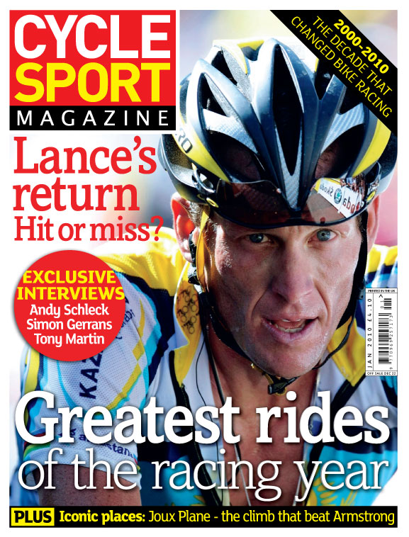 Cycle Sport January 2010 cover