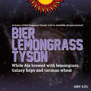 Neil deGrasse Tyson beer