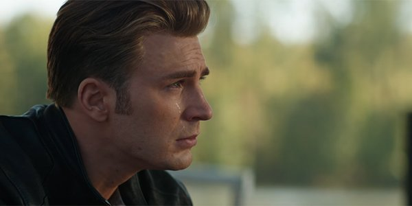 Steve Rogers crying