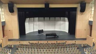 New CT School Gets Latest Tech in Auditorium, Gym, Lobby