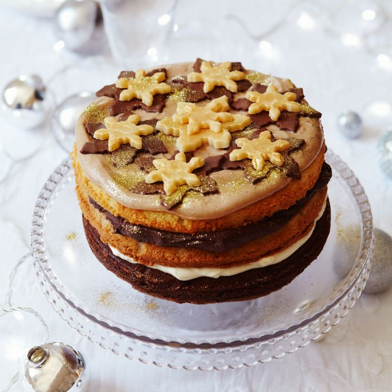 Chocolate And Chestnut Layer Cake