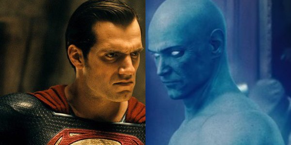 Henry Cavill's Superman against Billy Crudup's Dr. Manhattan: who wins?