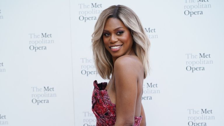 """Laverne Cox attends Metropolitan Opera Opening Night Gala, Premiere Of """"Porgy and Bess"""" on September 23, 2019 in New York City."""