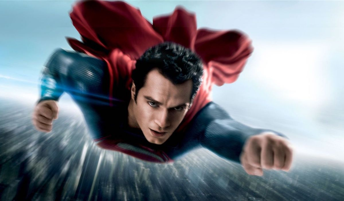 Henry Cavill as Superman in 2013's Man of Steel