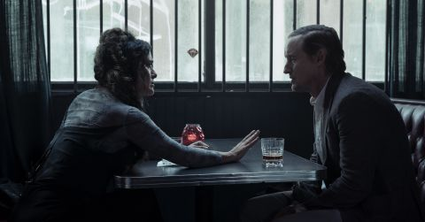 Salma Hayek and Owen Wilson play two people seemingly untethered from their reality in the sci-fi mystery 'Bliss'.