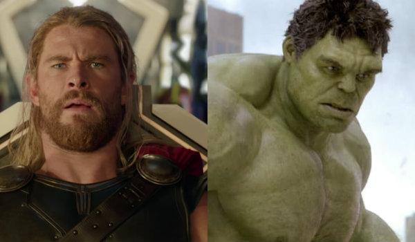 Thor Ragnarok Hulk The Avengers