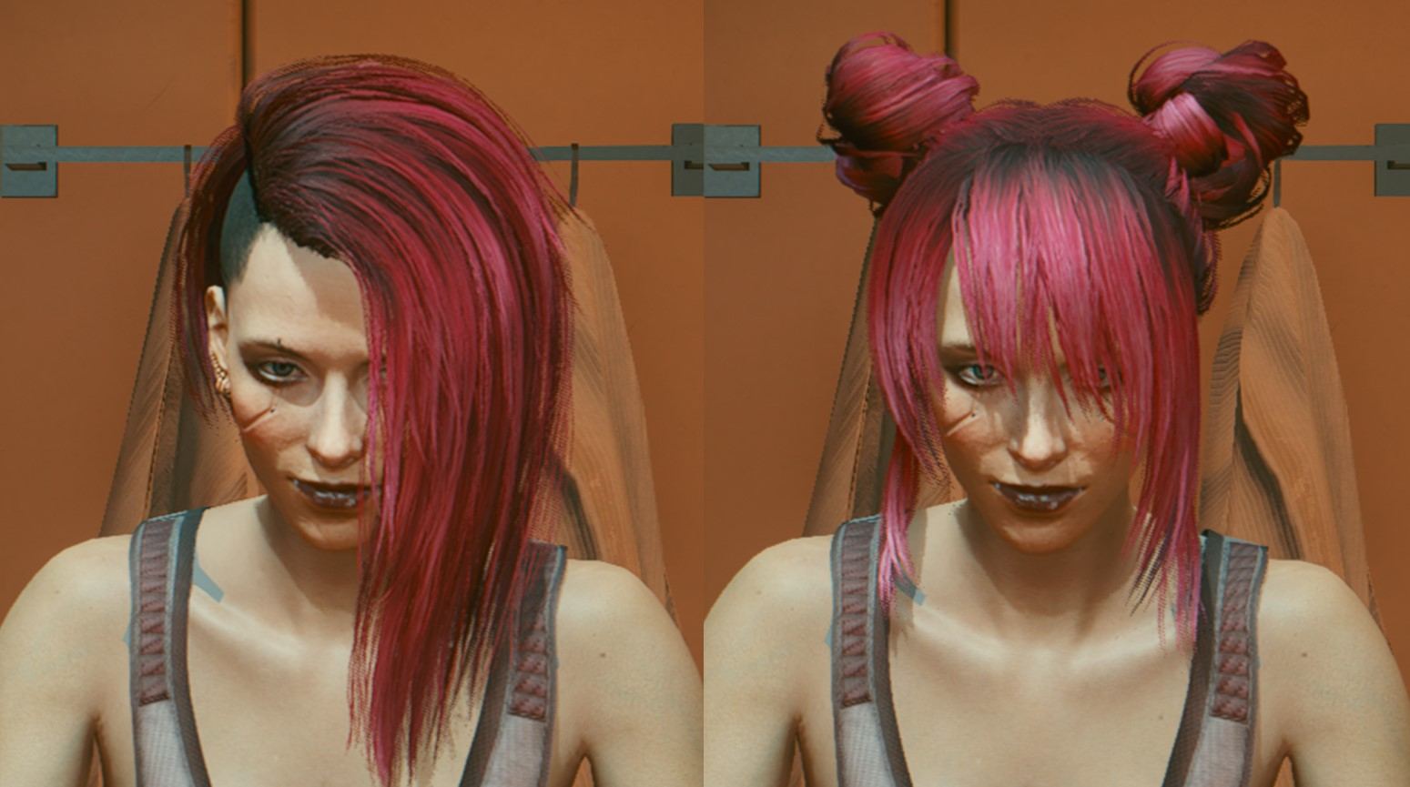 Change your Cyberpunk 2077 hairstyle with this mod