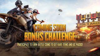 PUBG Mobile India Bonus Challenge: Participate and play for